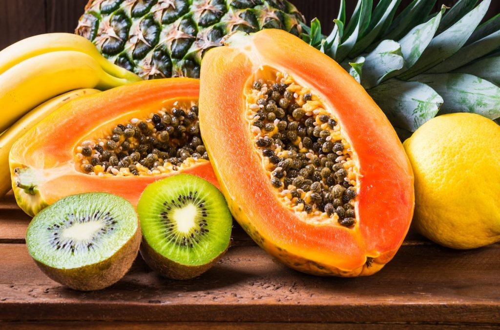 frutas que ajudam na digestão